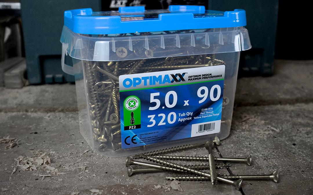 Top 5 Reasons to Love Optimaxx Wood Screws