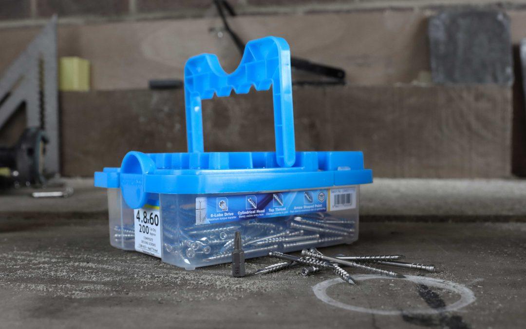 Optimaxx introduce Stainless Steel Decking screws